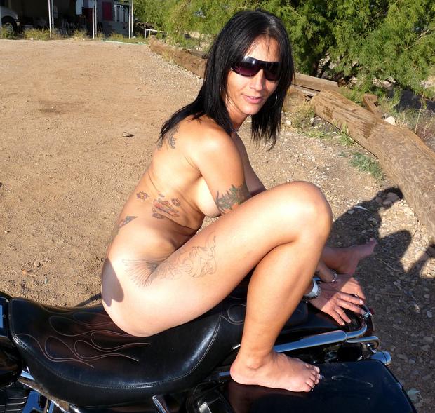 Fat milf on bike