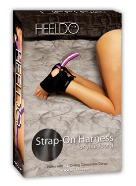 Heeldo Strap-on Foot Harnes; Toys Devices