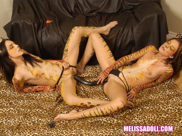 ; Lesbian Masturbation Panties Petite Pussy Toys