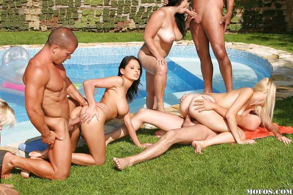 Big group nude orgy Mystery