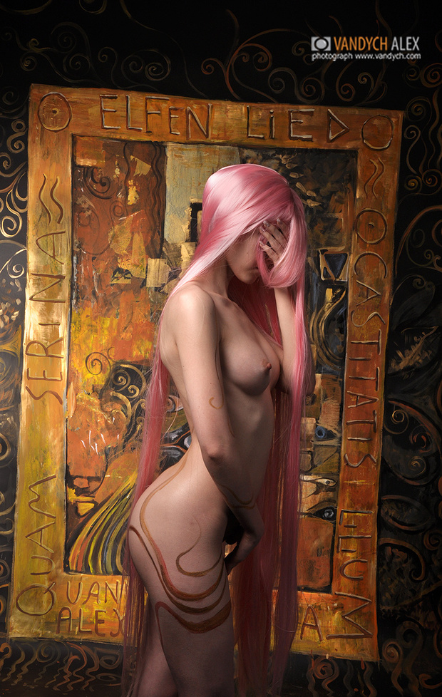 Elfen Lied Lucy/Nyu 02; Asian Hot Uniform