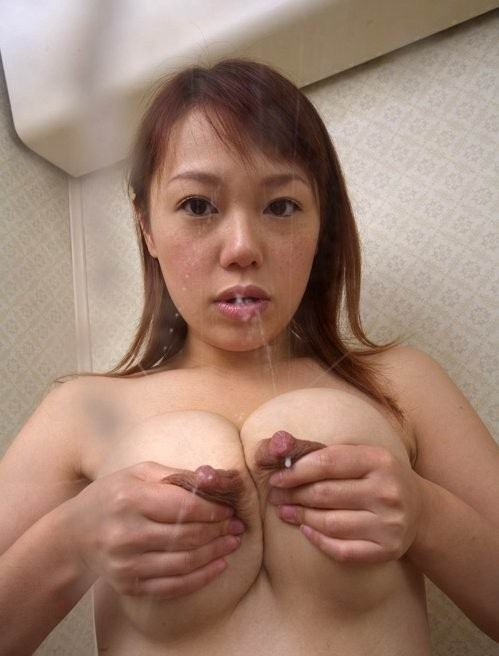 lactating asian boobs