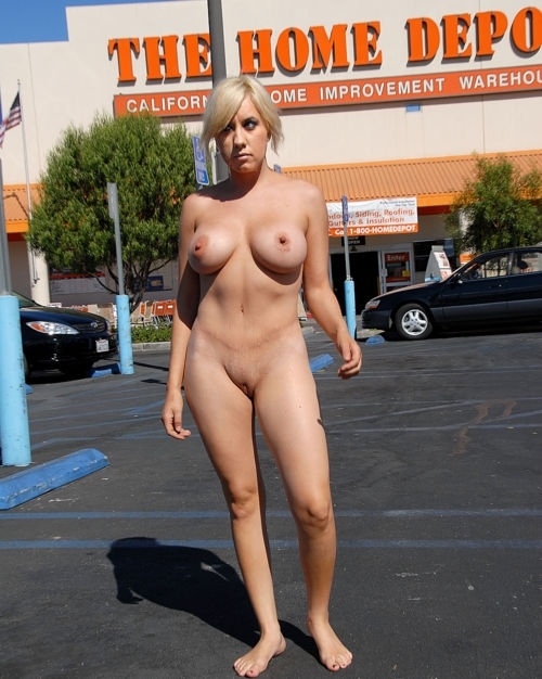Depot girl naked black home