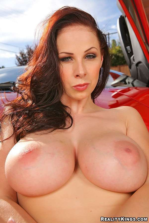 Pornstar with big breasts