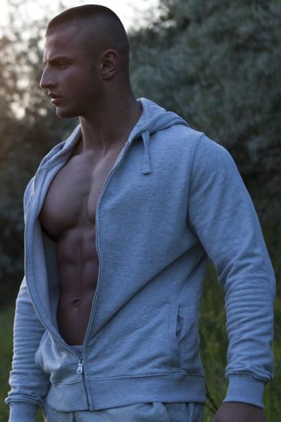 young bodybuilder; Men