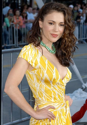 Wallpapers-Heaven • (via Alyssa Milano, Project-Firepower Gallery); Babe Celebrity HD Hot