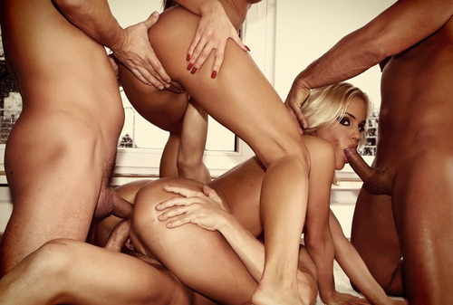 Good gangbang girls tube this new haircut!