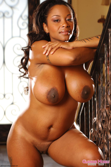 Black tits ebony
