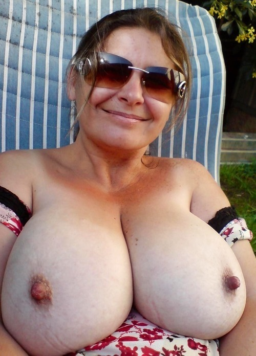 Old big tits sex
