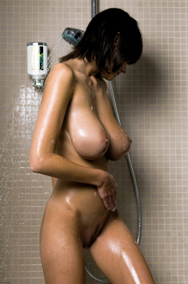 Perfect Curves • Wet, in the shower.; Big Tits