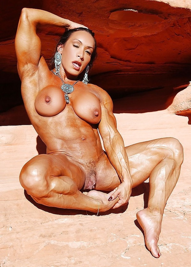 Фото голых культуристок