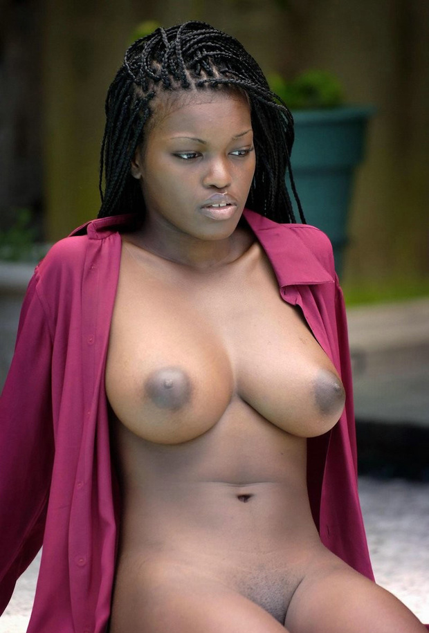 ...; Big Tits Ebony Girlfriend
