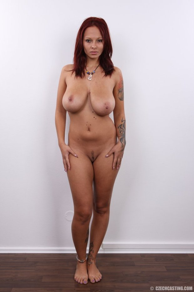 ...; Big Tits Red Head