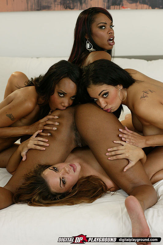 Ebony group sex pic free